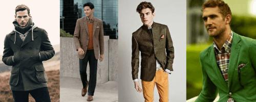 ősz évszaktípus férfi öltözködés