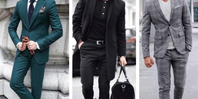férfi öltözködés ektomorf alkat
