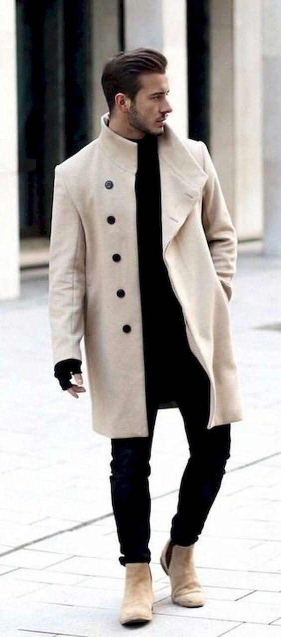 mezomorf férfi öltözködés